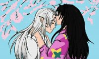 Sesshomaru and Rin's typical day