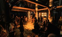 Medieval Tavern with minstrel music