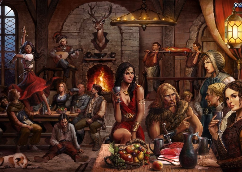 Standard Background Fantasy Tavern Sounds Audio Atmosphere