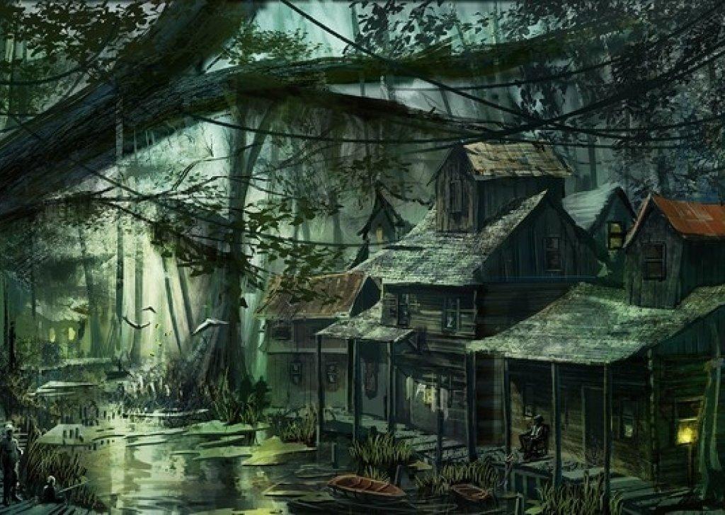 Swamp Town audio atmosphere