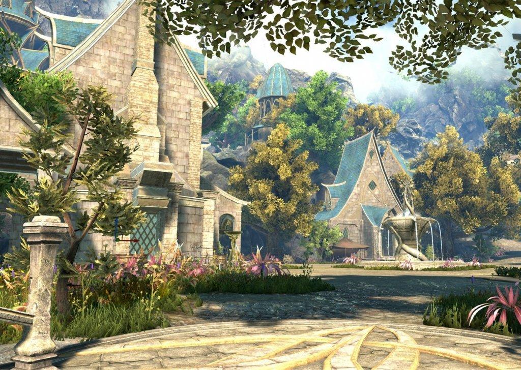 elven town audio atmosphere